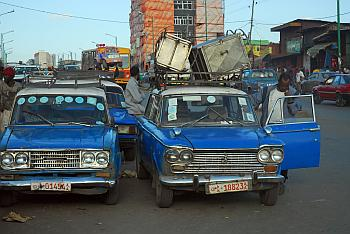 Taxen in Addis Abeba
