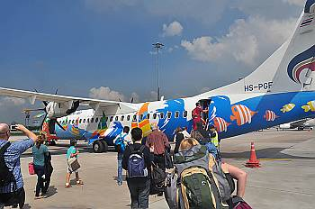 ATR 72 der Bangkok Air